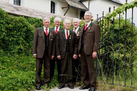Ehrenmitglieder Gruppenbild