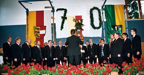 Konzert 70 Jahre MGV Poggersdorf