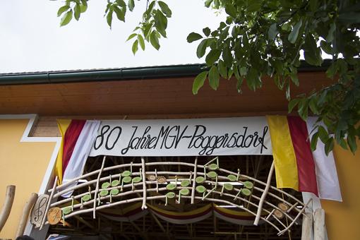 MGV Poggersdorf Jubiläumsfest